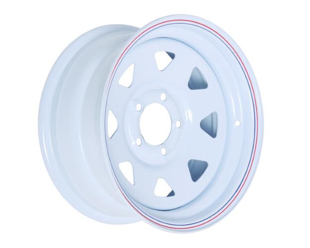 Picture of 15x7 PRO WHITE STEEL RIM 5-114.3, 83.7, 0