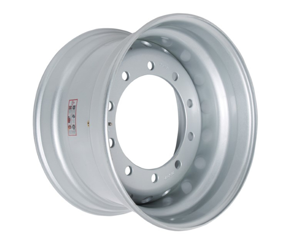 Picture of 11.75X22.5 STEEL RIM 26MM 10 HOLES N-T CENTRE DISH