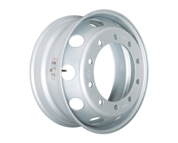 Picture of 8.25X22.5 STEEL RIM 26MM 10 HOLES NON TAPERED